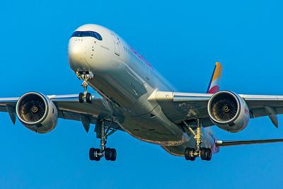 Iberia Airbus A350-941 EC-NBE 3-29-19