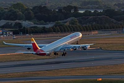 Iberia Airbus A340-642 EC-JPU 9-1-19