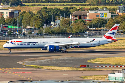 British Airways Airbus A350-1041 G-XWBA 9-1-19