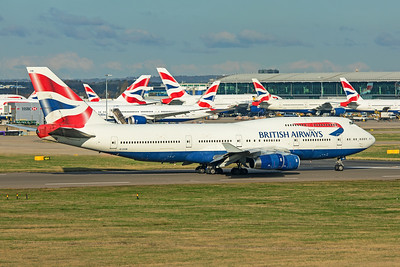 British Airways Boeing 747-436 G-CIVN 11-10-19