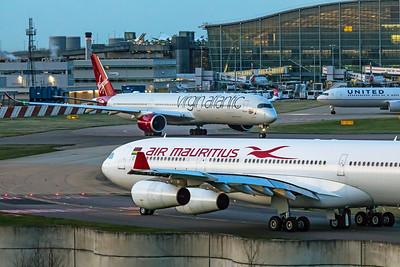 Air Mauritius Airbus A340-313 3B-NBE 11-10-19