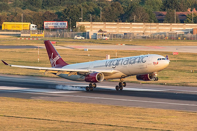 Virgin Atlantic Airways Airbus A330-343 G-VRAY 8-25-19