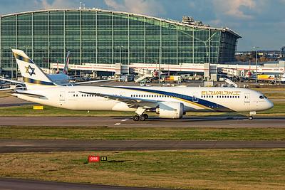 El Al Airlines Boeing 787-9 Dreamliner 4X-EDM 11-10-19 3