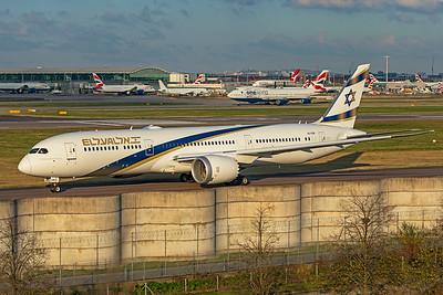 El Al Airlines Boeing 787-9 Dreamliner 4X-EDM 11-10-19 6