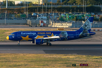 Eurowings Airbus A320-214 D-ABDQ 9-1-19