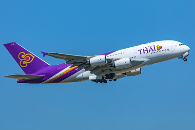Thai Airways International Airbus A380-841 HS-TUD 6-29-19