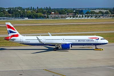 British Airways Airbus A321-251NX G-NEOW 9-8-21