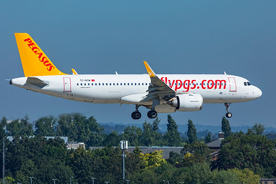Pegasus Airbus A320-251N TC-NCM 9-8-21