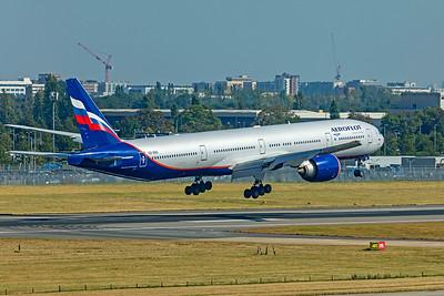 Aeroflot - Russian Airlines Boeing 777-3M0(ER) VQ-BQD 9-8-21 2