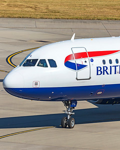 British Airways Airbus A320-232 G-EUYL 9-8-21 4