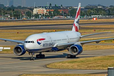 British Airways Boeing 777-236(ER) G-YMMA 9-8-21