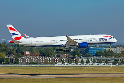 British Airways Airbus A350-1041 G-XWBH 9-8-21