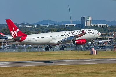 Virgin Atlantic Airways Airbus A330-343 G-VWAG 9-8-21