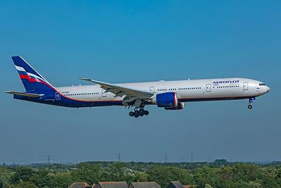 Aeroflot - Russian Airlines Boeing 777-3M0(ER) VQ-BQD 9-8-21