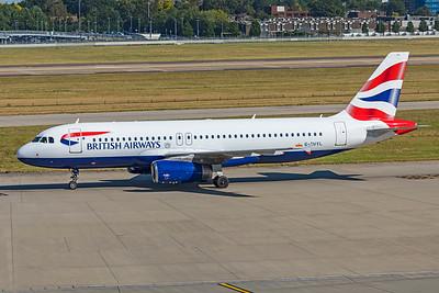 British Airways Airbus A320-232 G-EUYL 9-8-21 2