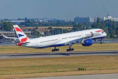 British Airways Airbus A350-1041 G-XWBH 9-8-21 3