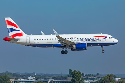 British Airways Airbus A320-251N G-TTNC 9-8-21
