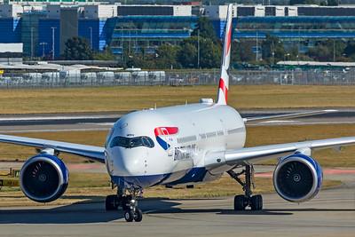 British Airways Airbus A350-1041 G-XWBH 9-8-21 2