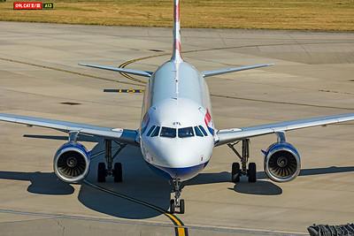 British Airways Airbus A320-232 G-EUYL 9-8-21 5