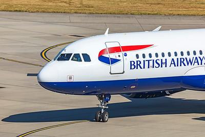 British Airways Airbus A320-232 G-EUYL 9-8-21 3