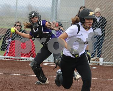 LHS Softball at Paola