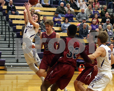 LHS Boys BB vs. Eudora