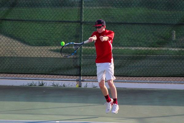 LHS Boys Tennis vs Robbinsville