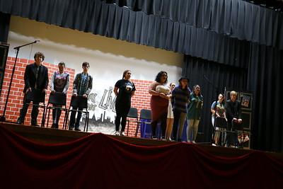 LHS Broadway Rehearsal