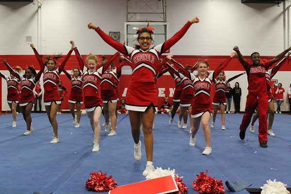LHS Cheer (Winter Pep Rally)