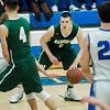 Nashoba's Trevor Manyak in action during the game against Leominster at LHS on Tuesday, January 31, 2017. SENTINEL & ENTERPRISE / Ashley Green