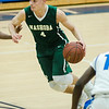 Nashoba's Jack Meilleur in action during the game against Leominster at LHS on Tuesday, January 31, 2017. SENTINEL & ENTERPRISE / Ashley Green
