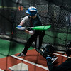 Sophomore standout Patrick Gallagher practices alongside Leominster High teammates at Union Square Sports Hub on Wednesday, March 22, 2017. SENTINEL & ENTERPRISE / Ashley Green