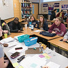 Leominster High School S.T.U.M.P. (Students for Transparency and Understanding of Municipal Politics) program met on Thursday morning, Nov. 21, 2019 before school. Students participate in the program. SENTINEL & ENTERPRISE/JOHN LOVE