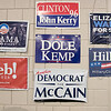Leominster High School S.T.U.M.P. (Students for Transparency and Understanding of Municipal Politics) program met on Thursday morning, Nov. 21, 2019 before school. One of the classroom wall's was covered in campaign posters. SENTINEL & ENTERPRISE/JOHN LOVE