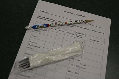 LHS Student Taste Testing