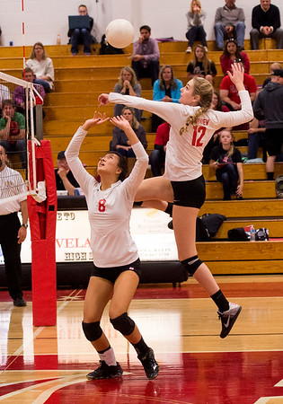 LHS Volleyball vs Fairview Oct., 19, 2016