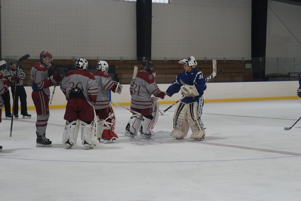 . Lowell High School vs. Missisquoi Valley Union Saturday, January 13, 2018 at The Janas Memorial Skating rink, in Lowell, Ma. SUN/ KATIE DURKIN