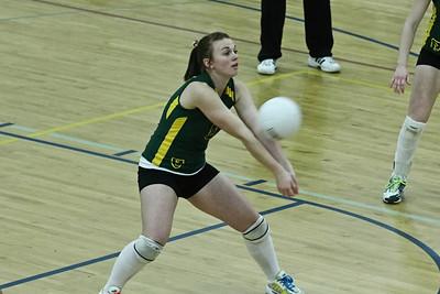 Volleyball Sectional vs. Shoreland Lutheran