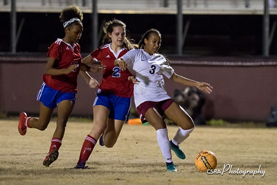 LHS Girls Soccer vs Heritage 2/20/18
