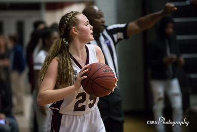 LHS Girls Basketball vs Alcovy 2/2/18