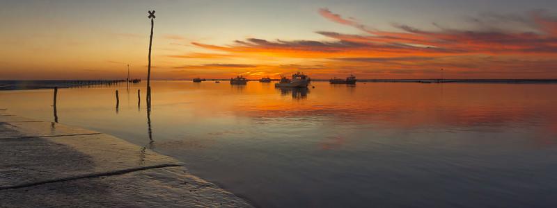 sunset  -  Charron