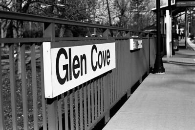 Glen Cove Station - Long Island Railroad Lens: Nikkor 50mm f/1.8 Film: Kodak TRI-X iso400