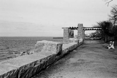 Morgan Park - Glen Cove, NY Lens: Nikkor 24-120mm f/3.5/5.6D Film: Kodak TRI-X iso400