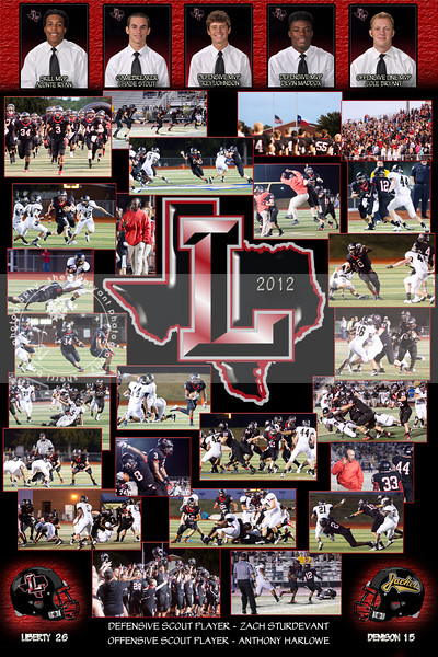 LHS-DENISON FIELDHOUSE COLLAGE 2012