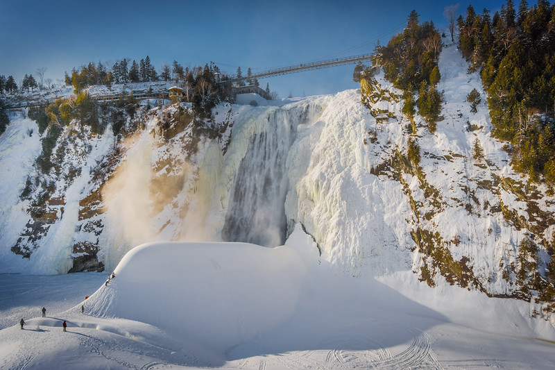 Travel Photography Blog - Quebec. Montmorency Falls