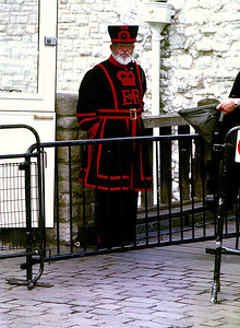 Beefeater, London Tower.