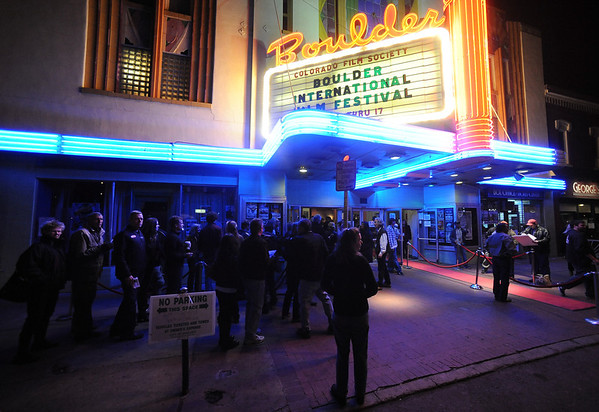 "People wait to enter the Boulder Theater Sunday night to see Peter Fonda.<br /> The closing night of the 2013 Boulder International Film Festival featured an interview with Peter Fonda.<br /> For more photos and a video of Peter Fonda, go to  <a href=""http://www.dailycamera.com"">http://www.dailycamera.com</a>.<br />  Cliff Grassmick  / February 17, 2013"