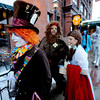 "Adam Jimenez, playing the Mad Hatter, left, Swann Christopher, playing the lion, and Patty Malesh, playing Dorothy, go out to meet BIFF guests on opening night.<br /> The stars came out for Opening night of the Boulder International Film Festival on Thursday.<br /> For more photos of the red carpet, go to  <a href=""http://www.dailycamera.com"">http://www.dailycamera.com</a>.<br /> Cliff Grassmick / February 14, 2013"