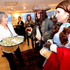"Barb McCleary, left, has food for  Adam  Jimenez, playing Jack Sparrow, and Patty Malesh, playing Dorothy, during one of the opening night parties.<br /> The stars came out for Opening night of the Boulder International Film Festival on Thursday.<br /> For more photos of the red carpet, go to  <a href=""http://www.dailycamera.com"">http://www.dailycamera.com</a>.<br /> Cliff Grassmick / February 14, 2013"