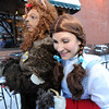 "Swann Christopher, playing the lion, and Patty Malesh, playing Dorothy, go out to meet BIFF guests on opening night.<br /> The stars came out for Opening night of the Boulder International Film Festival on Thursday.<br /> For more photos of the red carpet, go to  <a href=""http://www.dailycamera.com"">http://www.dailycamera.com</a>.<br /> Cliff Grassmick / February 14, 2013"